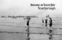 Bathing in the South Bay, Scarborough